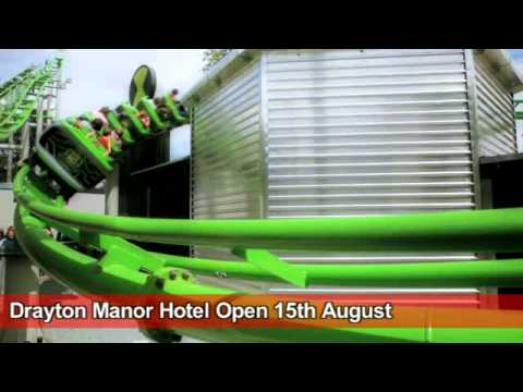 Drayton Manor - Ben 10, Thomas Land Tv Advert 2011