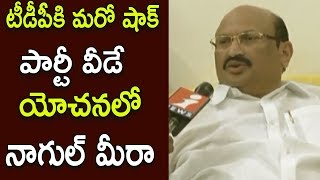 Nagul Meera Upset Over Jaleel Khan Comments on Vijayawada West MLA Ticket | Face To Face | iNews - INEWS
