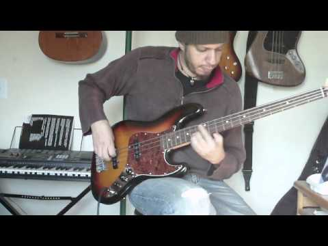 Fender Jazz Bass with Flatwounds - Fingerstyle improv test