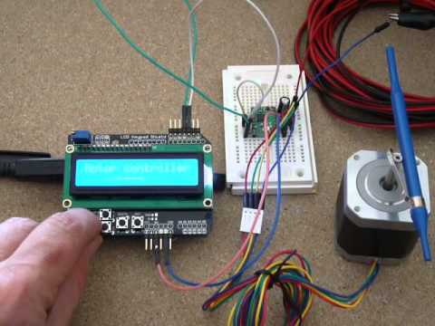 Fritzing Project A4988 Single Stepper Test