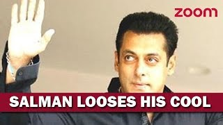 Salman Khan Gets Angry At 'Out Of Control' Fans - ZOOMDEKHO