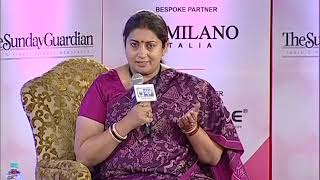 Women of Steel Summit: Smriti Irani on MeToo movement, says women are always outspoken - NEWSXLIVE