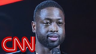 NBA star Dwyane Wade stands with massacre victims - CNN