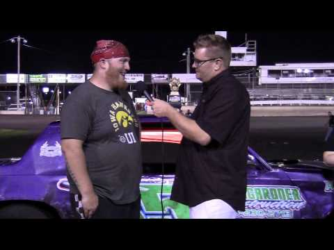 Seth Janssen Hobby Stock Feature winner 08/09/14