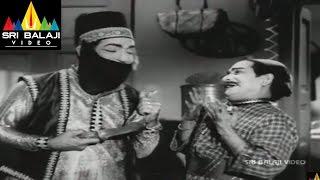 Alibaba 40 Dongalu Movie Ramalingaiah and NTR Comedy    NTR, Jaya Lalitha - SRIBALAJIMOVIES