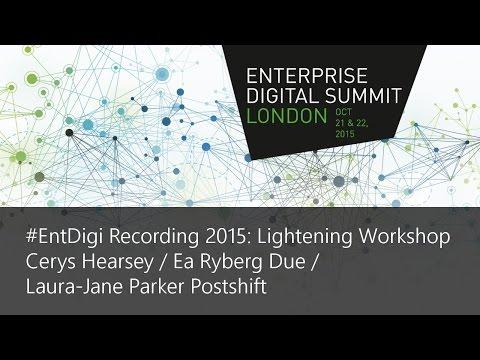#EntDigi15 Recording - Cerys Hearsey / Ea Ryberg Due / Laura-Jane Parker Postshift