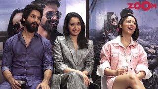Shahid Kapoor, Shraddha Kapoor & Yami Gautam's FUN Interview For 'Batti Gul Meter Chalu' - ZOOMDEKHO