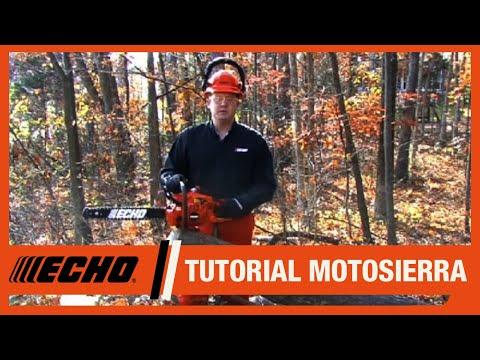 Motosierras ECHO - Uso y mantenimiento de las motosierras
