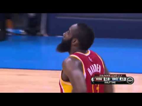NBA CIRCLE  Houston Rockets Vs Oklahoma City Thunder Game 5 Highlights 1 May 2013 NBA Playoffs