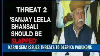 "Padmavati controversy: Protestors say, ""We will cut off Deepika Padukone's nose; don't challenge us"" - NEWSXLIVE"
