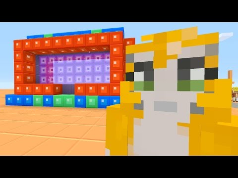 Minecraft Xbox - Stampy Flat Challenge - Scuba Mask? (9)