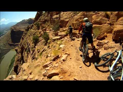 Portal Trail - Moab, Utah - Mountain Biking - GoPro HD