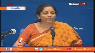 We Will Strike Back On Unprovoked Ceasefire at Border | Nirmala Sitharaman | Delhi | iNews - INEWS