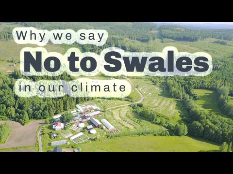 One Permaculture farm where swales are banned