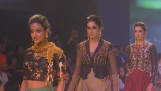 24 Sep, 2018 (ANI) - Edgy designs and muted tones reign on day two of New Delhi fashion show - ANIINDIAFILE