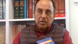 Subramanian Swamy speaks on assault by MLA Haris's son - NEWSXLIVE