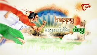 Republic Day 2015 Animated Greeting Wishes | 66th Republic Day - TELUGUONE
