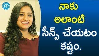 నాకు అలాంటి సీన్స్ చేయటం కష్టం. - Ashika Gopal Padukone || Soap Stars With Anitha - IDREAMMOVIES