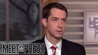 Cotton: 'I can't make that kind of commitment' to support Trump deal | Meet The Press | NBC News - NBCNEWS
