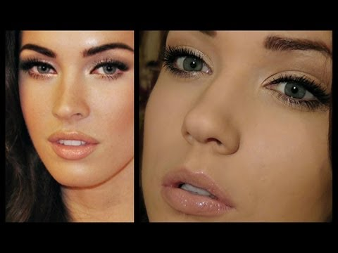 Megan Fox Makeup Look -Row3tkxVrGk