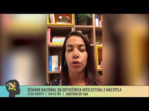 Comissão de Acessibilidade - Cláudia Ferraz - Defensora Pública