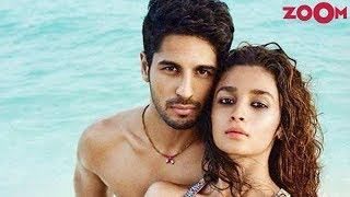 Alia Bhatt REACTS on Sidharth Malhtora's comment on their relationship | Bollywood News - ZOOMDEKHO