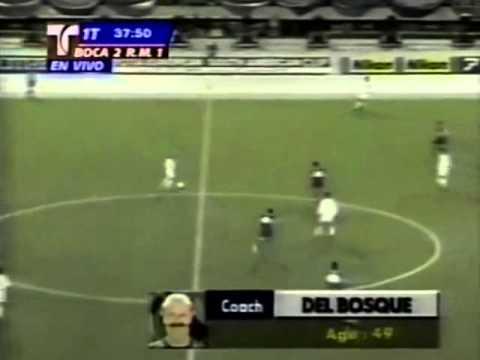 Boca Juniors vs Real Madrid - Final Intercontinental 2000 (Partido Completo)