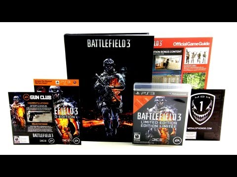 Battlefield 3 Limited Edition Unboxing -Rpqu7Sie8NQ