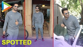 Bollywood Actor Upen Patel Spotted At Gym In Bandra - HUNGAMA