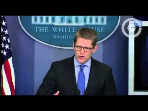 Jay Carney Brings Up Obama's Birth Certificate During Scandal Questioning