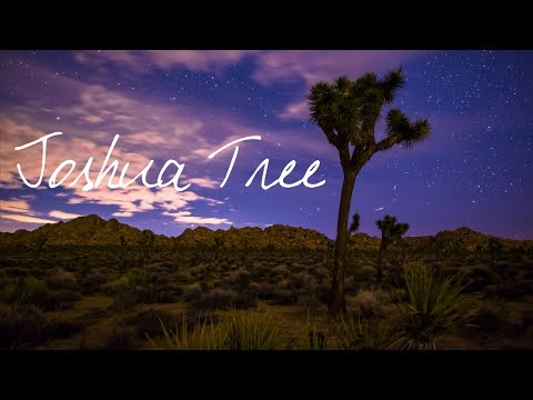 Joshua Tree ~ Wander List