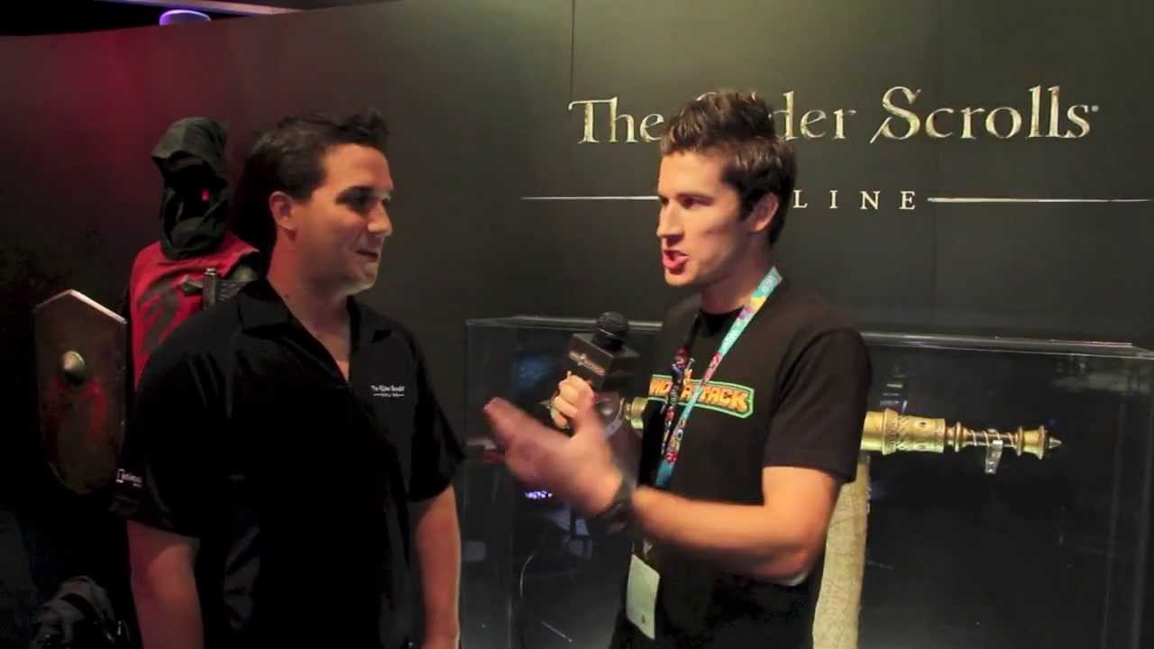 The Elder Scrolls Online Interview - E3 2013