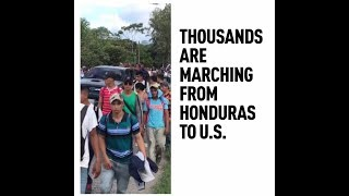 Migrant Caravan: Trump threatens to close US border and send army - RUSSIATODAY