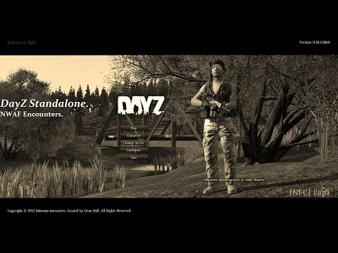 Dayz Standalone Alpha, NWAF Loot run + Encounters.