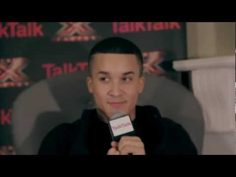 Backstage EXCLUSIVE with TalkTalk: Jahmene in the TalkTalk VIP Room! Week 7