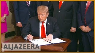 🇺🇸 🇮🇱Trump's support for Israeli Golan Heights draws global anger | Al Jazeera English - ALJAZEERAENGLISH