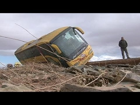 Deadly floods in southern Morocco