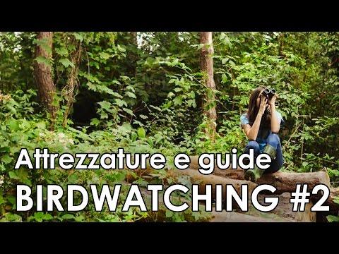 Video-corso di birdwatching #2 - Attrezzature e guide