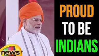 We Are Proud To Be Known as Indians, Says PM modi | Modi speech on 72nd Independence Day |Mango News - MANGONEWS
