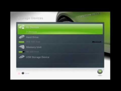 How To Use Any USB Flash Drive Or External USB Hard Drive To Save Xbox 360 Game Content