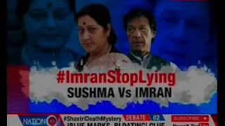 Sushma Swaraj Slams Pakistan Prime Minister Imran Khan, Asks to Restore Girls to their Kin - NEWSXLIVE
