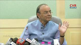 Union Minister Arun Jaitley addresses press conference on rising fuel prices | CVR News - CVRNEWSOFFICIAL