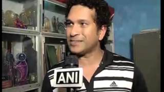 06 Mar, 2014 - Sachin Tendulkar Bats For Hygiene Among Children - ANIINDIAFILE