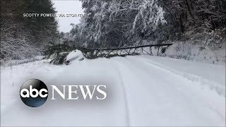 Massive winter storm blasts Southeast - ABCNEWS