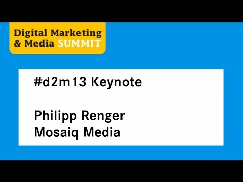 #d2m13 | Philipp Renger, Mosaiq Media
