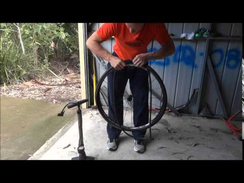 How to Fix a Flat Bike Tyre without a Puncture Repair Kit Fast.