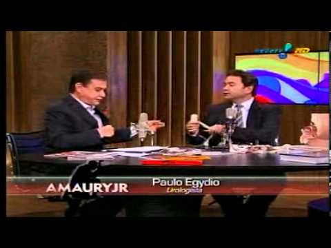 Dr. Paulo Egydio no Amaury Jr (Dr. Paulo Egydio on the TV show Amaury Jr)