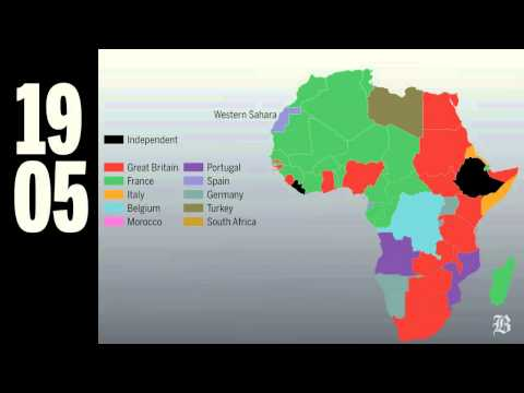 Western Sahara is the last African colony