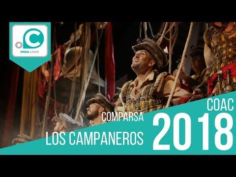 Sesión de Preliminares, la agrupación Los campaneros actúa hoy en la modalidad de Comparsas.