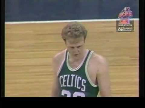 Larry Bird Scores 60 on the Hawks 1985